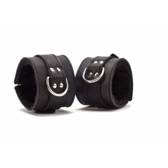 Devil Sticks - bőr bilincs (fekete)