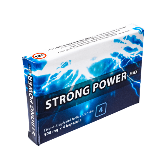 Strong Power Max potencianövelő kapszula
