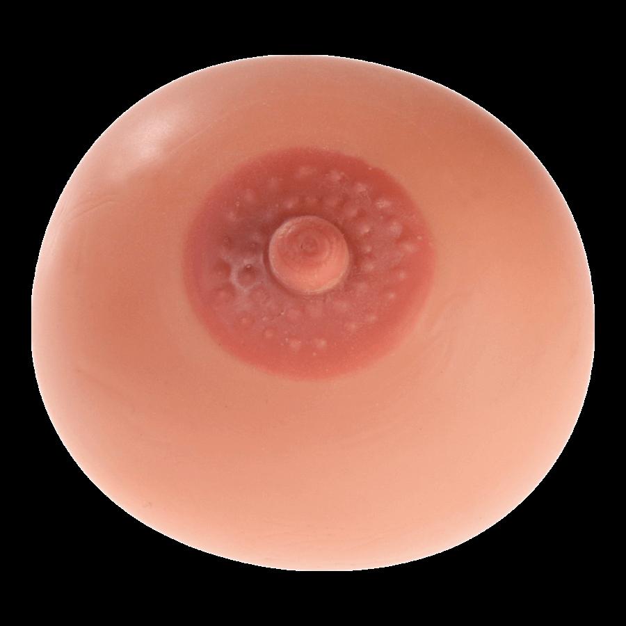 Stresszoldó labda - cici (natúr)