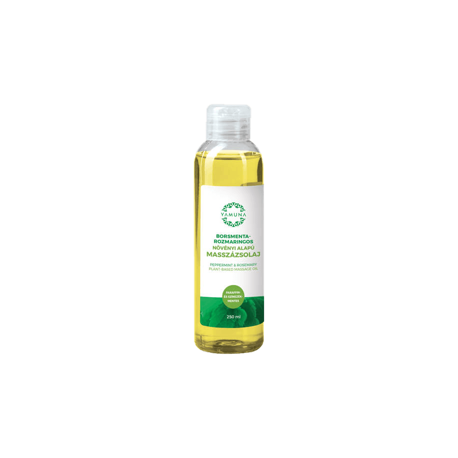 Borsmenta-Rozmaringos növényi alapú masszázsolaj - 250ml
