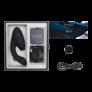 Kép 1/5 - Womanizer Duo - vízálló G-pont vibrátor és csiklóizgató egyben (fekete) - pleasure air technology