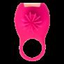 Kép 2/5 - Tokyo Design Glamfit - akkus, forgó pénisz gyűrű (cseresznye) - körbe-körbe forgó propellerrel
