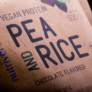Kép 2/4 - Pea & Rice Vegan Protein - 500g - VEGAN - Nutriversum - mogyoró - 100% növényi fehérje